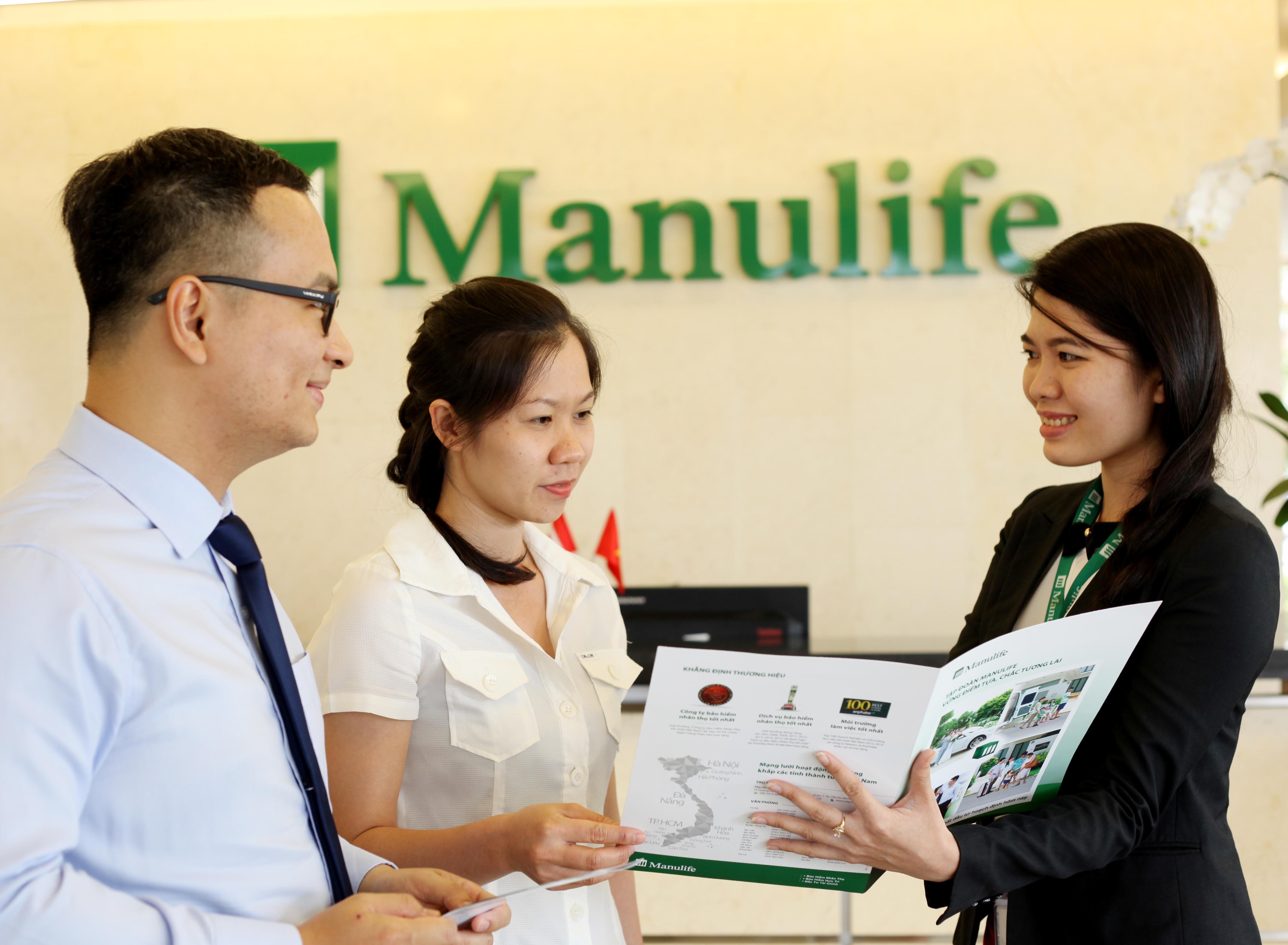 Năm 2015, Manulife Việt Nam nằm trong top 2 nơi làm việc tốt nhất trong ngành Bảo hiểm