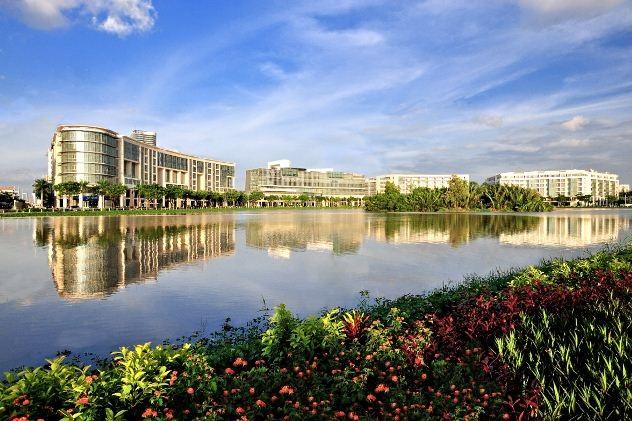 Không gian sống chất lượng theo tiêu chuẩn quốc tế là một trong những yếu tố tạo ưu thế cho đô thị Phú Mỹ Hưng thu hút người nước ngoài chọn làm nơi sinh sống.