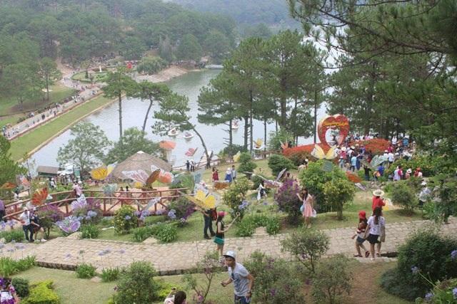 Đầu hè, du khách tới Đà Lạt- Lâm Đồng tăng mạnh