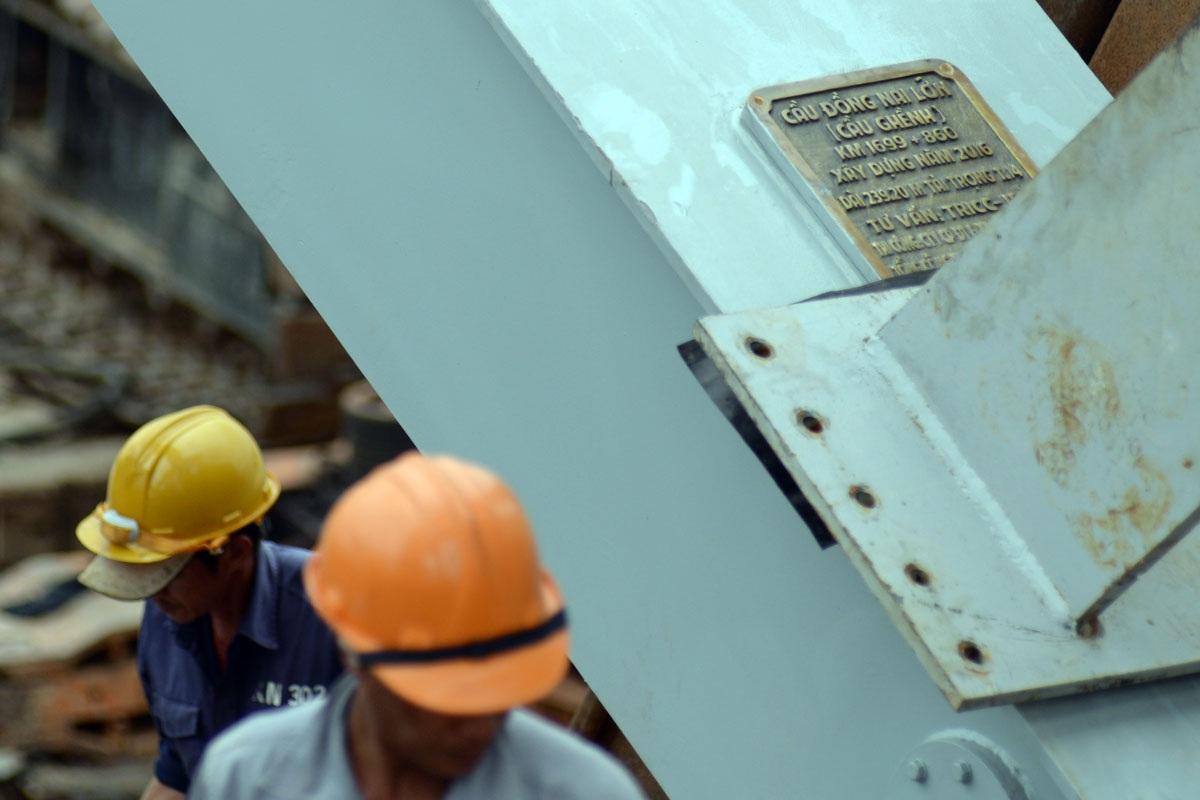 Sau khi đưa vào sử dụng, cầu Ghềnh sẽ đổi tên thành cầu Đồng Nai