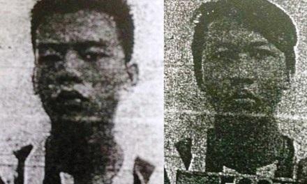 Hai thanh niên bị truy tố tội cướp giật tài sản sẽ hầu tòa vào ngày 20/7 (ảnh công an cung cấp).