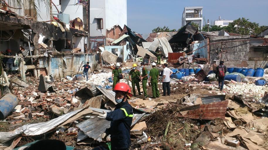 Hiện trường vụ nổ kinh hoàng làm 8 người thương vong