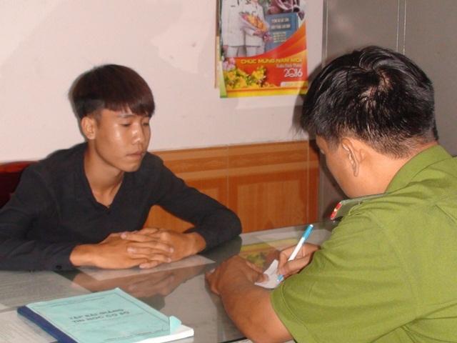 Nguyễn Văn Nam tại cơ quan điều tra.