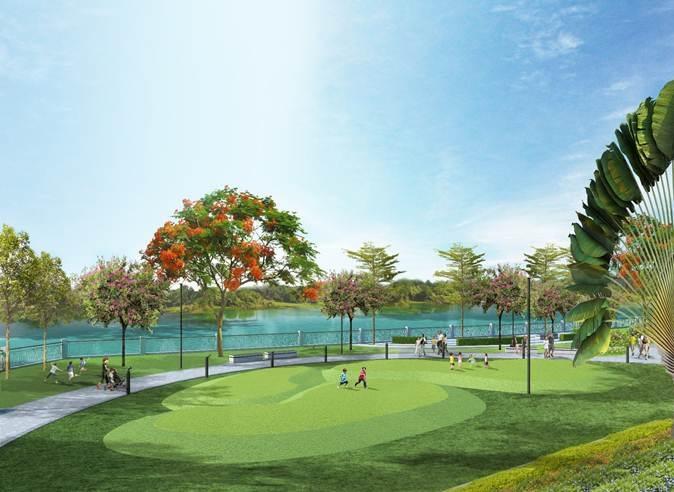 Các cư dân nhí tại Riverpark Premiercó khá nhiều không gian riêng như phòng chơi, sân chơi ngoài trời