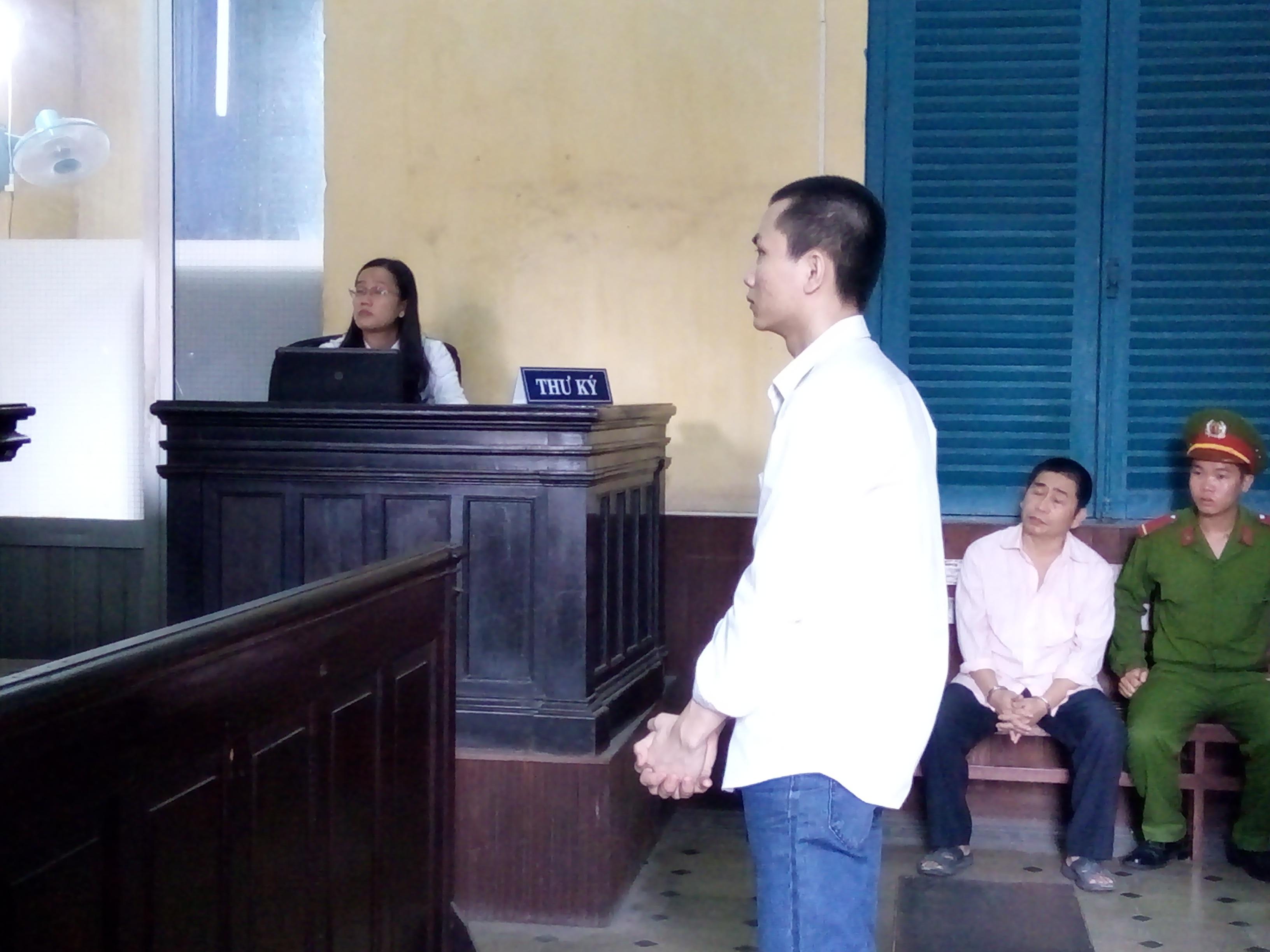 Bị cáo Khánh tại phiên tòa xét xử phúc thẩm