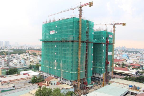 Tiến độ xây dựng vượt trội của dự án Luxcity tạo lòng tin cho người mua nhà