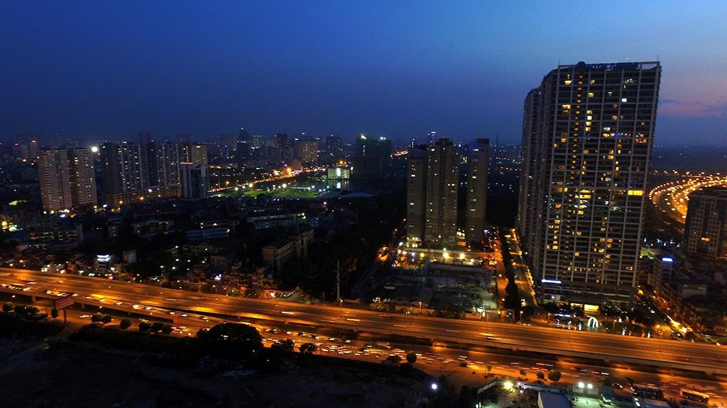 Khu đô thị mới ở quận Hà Đông.