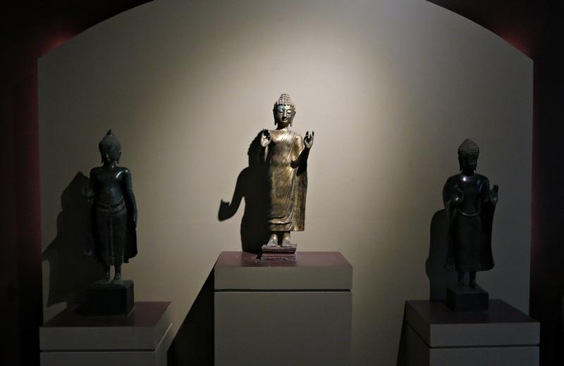 Nhiều cổ vật mới lần đầu được trưng bày tại Triển lãm tinh hoa cổ vật Phật giáo ở Đà Nẵng hồi tháng 8/2014