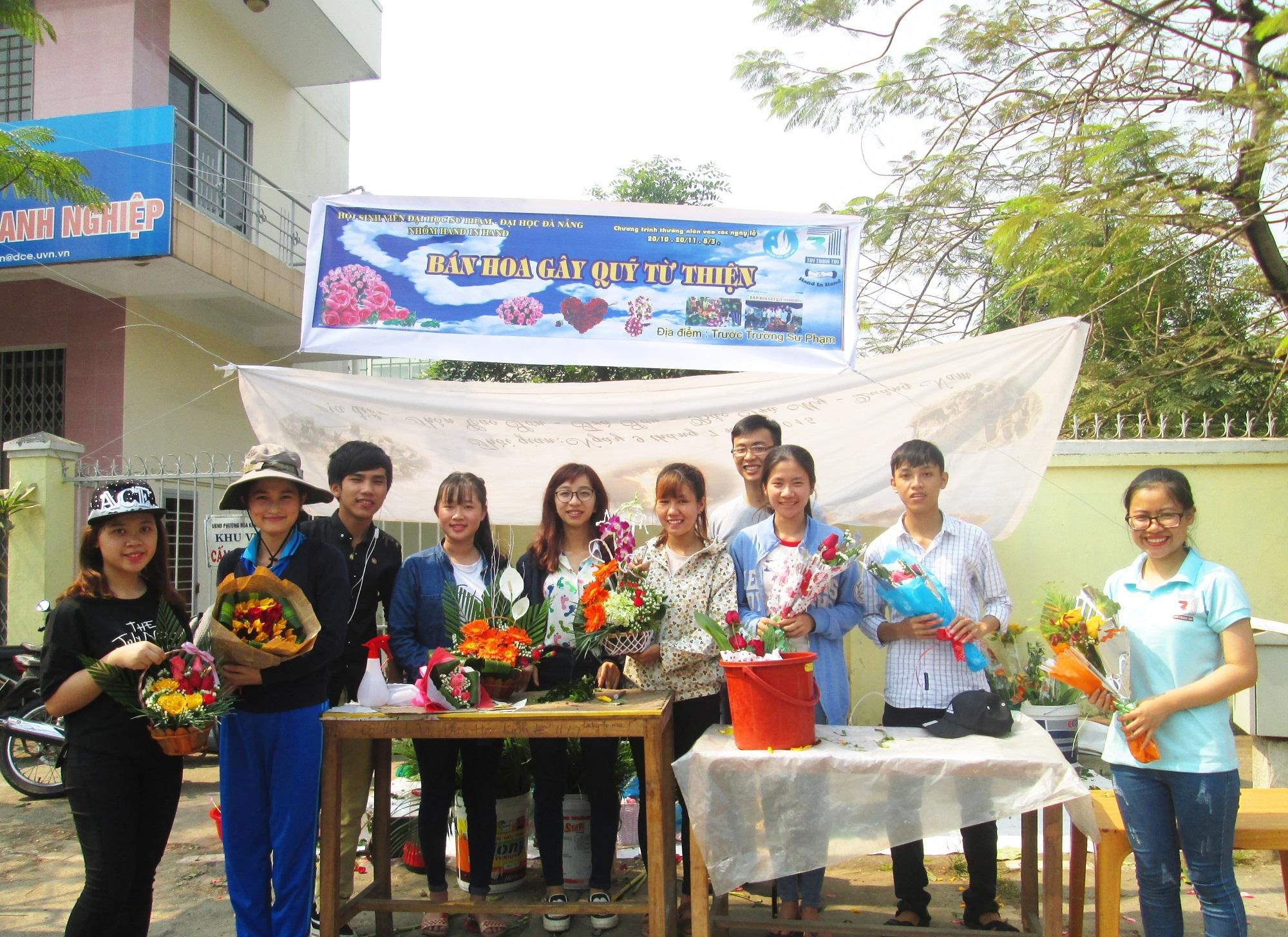 Toàn bộ số tiền kiếm được từ việc bán hoa này sẽ được gây quỹ cho các hoạt động từ thiện.