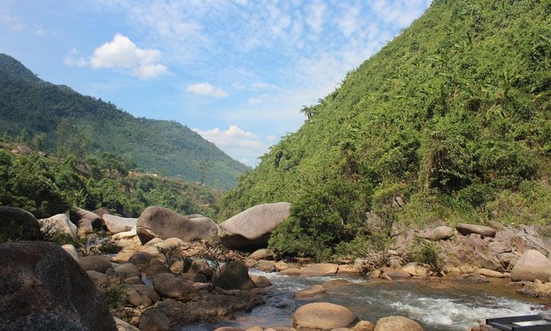 Thiên nhiên hoang sơ, trong lành ở các khu du lịch sinh thái phía Tây TP Đà Nẵng