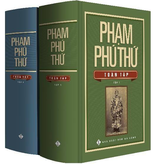 Tác phẩm Phạm Phú Thứ toàn tập vừa được Hội Xuất bản Việt Nam trao tặng giải Vàng sách hay