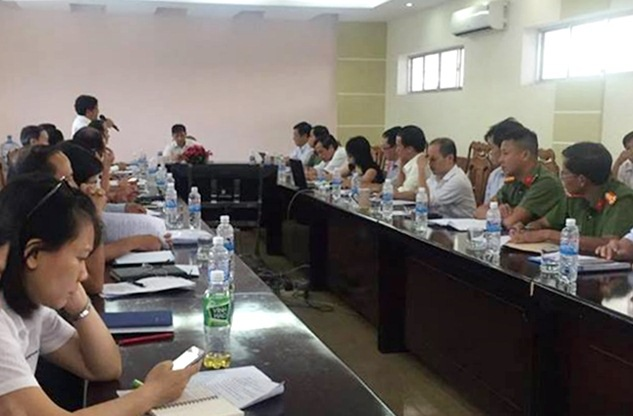 Ban Chỉ đạo cụm thi 40 tại Đà Nẵng họp về công tác chuẩn bị thi chiều 13/6