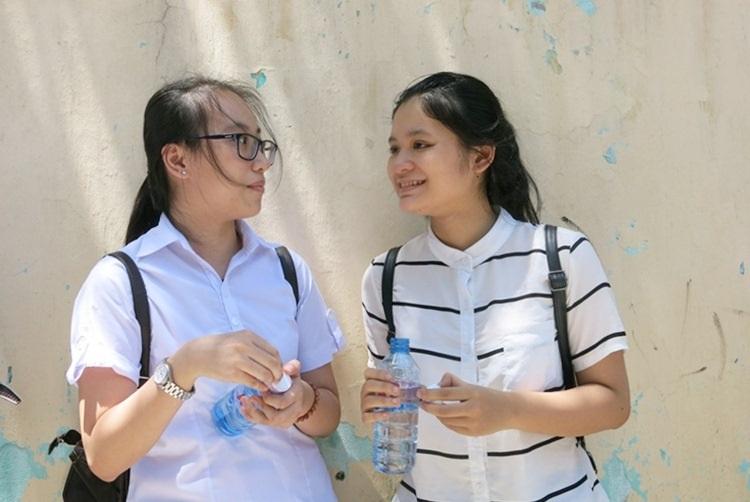 Thí sinh dự kỳ thi THPT quốc gia 2016 tại Đà Nẵng