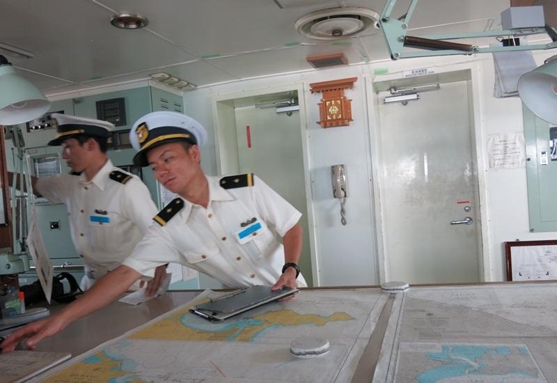 Tàu cảnh sát biển Nhật Bản đến Đà Nẵng - 5