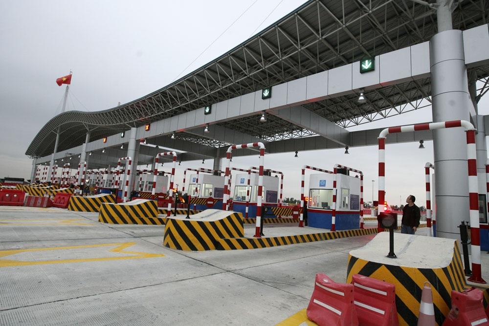 Trạm thu phí tuyến cuối tại km 95 địa phận Hải Phòng với quy mô 16 làn thu phí. Trạm này cùng với trạm thu phí tại km 11 địa phận Hưng Yên (14 làn) là 2 điểm thu phí lớn nhất trên toàn tuyến.