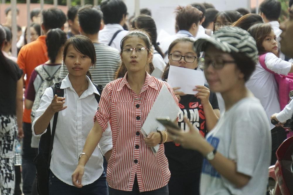 Cụm thi số 3 - ĐHTL sẽ là nơi thi của thí sinh các quận Đống Đa, quận Thanh Xuân, quận Hà Đông, huyện Thanh Trì, huyện Quốc Oai và huyện Thanh Oai.