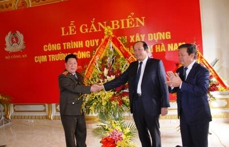 Bộ Công an tiếp nhận trường Đại học Hà Hoa Tiên để xây dựng cụm trường Công an nhân dân