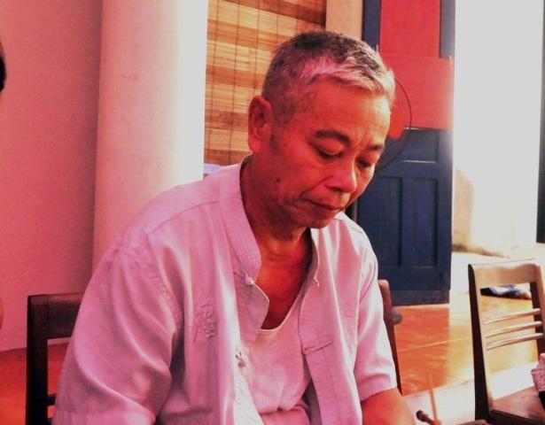 Ông Nguyễn Văn Chiến (70 tuổi) – Bố Thiếu Tá Nguyễn Văn Chính: Dù đau đớn, nhưng gia đình tôi rất tự hào và hãnh diện về con trai