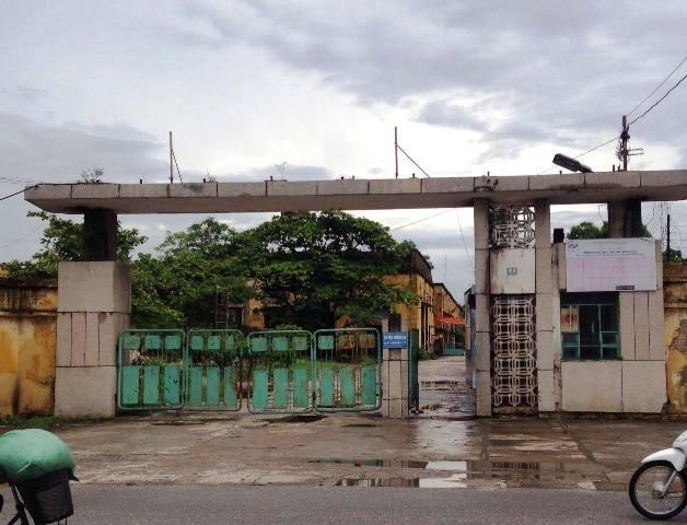 Cổng Nhà máy dệt Nam Định