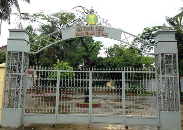 Khu Nhà truyền thống - nơi Bảo tàng Dệt May tọa lạc