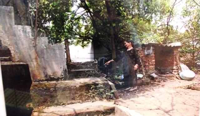 Hầm công sự thuộc khu di tích Chỉ huy sở Nhà máy Dệt Nam Định trong thời kỳ Kháng chiến chống Mỹ