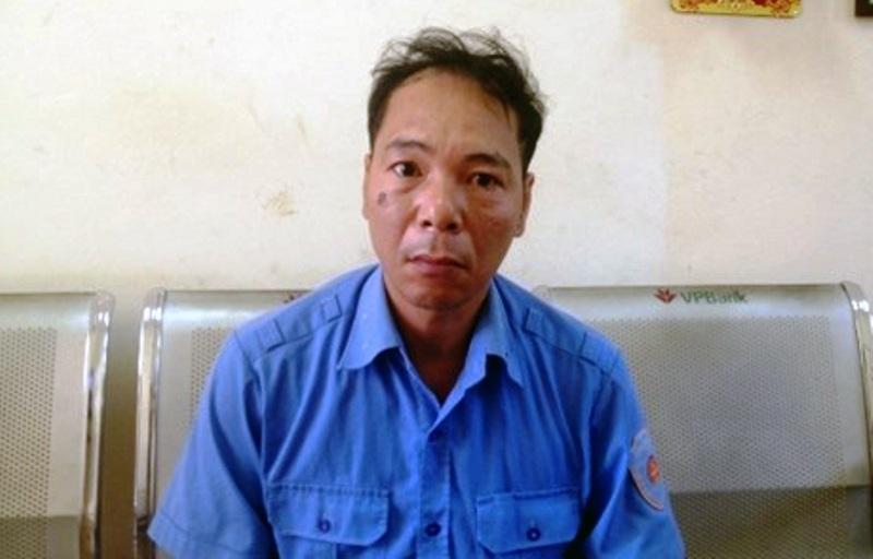 Nguyễn Quang Điệp - người nhắn tin gạ tình chị L. (Ảnh: CQĐT cung cấp)