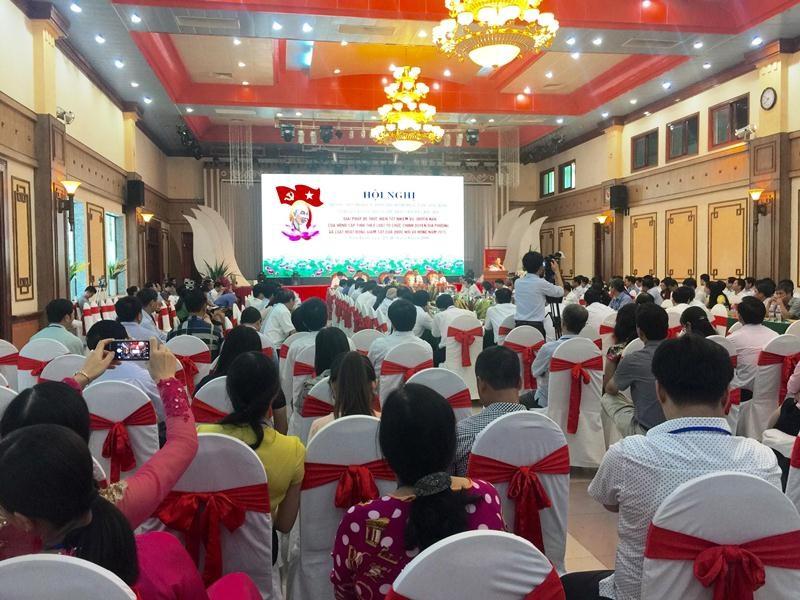 Hội nghị Thường trực Hội đồng nhân dân các tỉnh, thành phố Đồng bằng sông Hồng và Duyên hải Bắc Bộ lần thứ nhất nhiệm kỳ 2016-2021.