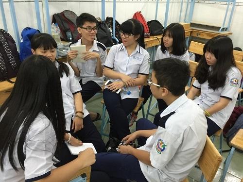Học sinh thấy hứng thú với cách học văn mới này.