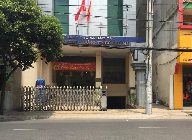 Trường ĐH Hùng Vương TPHCM tại cơ sở 736 Nguyễn Trãi, quận 5, TPHCM.