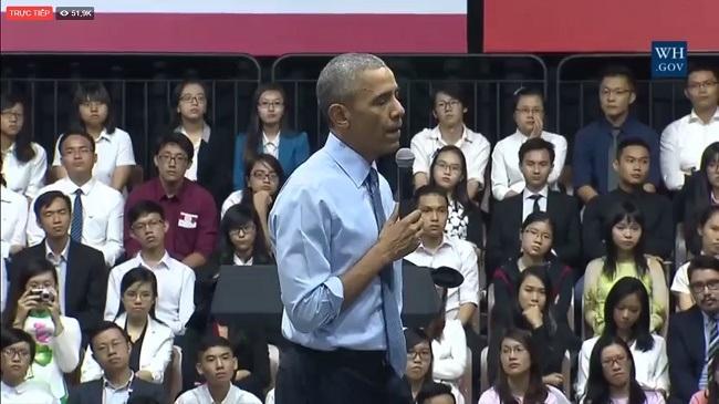 """Đây là lần thứ 2, Phạm Hoàng Mẫn được gặp """"vị tổng thống quyền lực nhất thế giới"""""""
