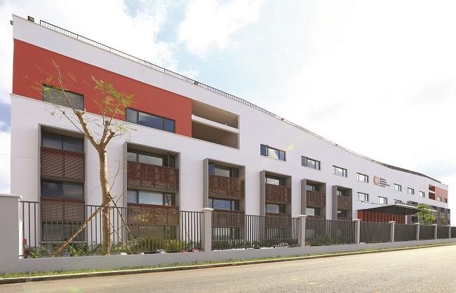 Cơ sở này được đầu tư xây dựng với tổng diện tích lên đến 14,480 m2