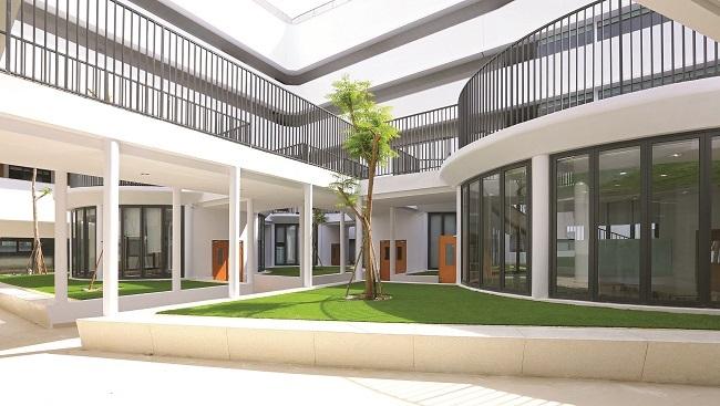 Garden Hills Mega Campus được xây dựng theo xu hướng kiến trúc xanh
