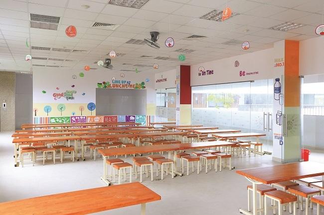 Một phòng ăn cho học sinh tiểu học