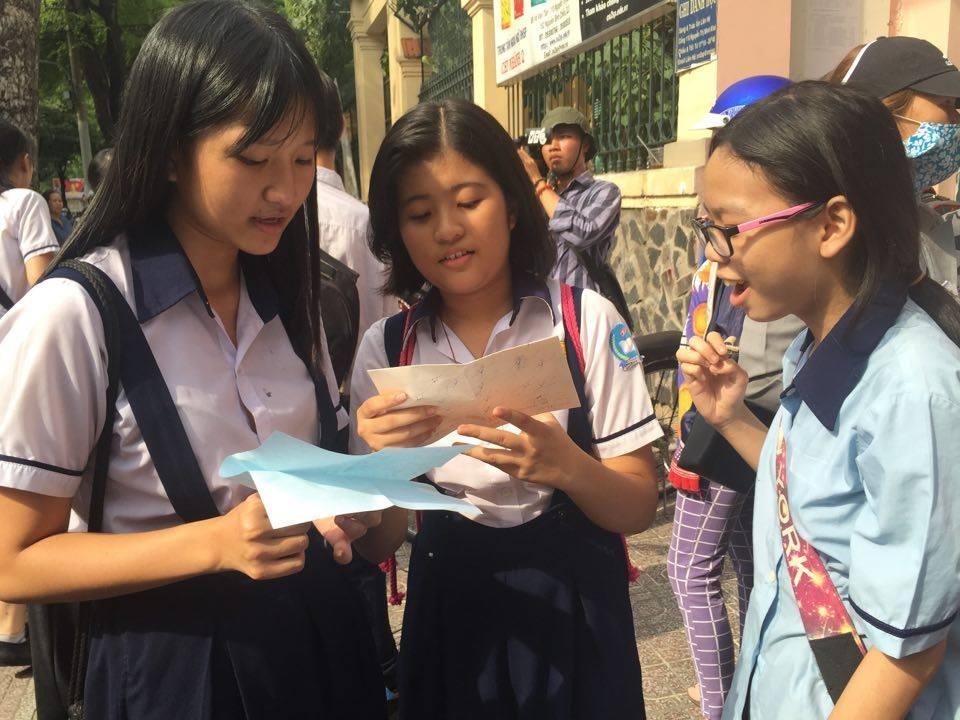 TPHCM chính thức công bố điểm thi vào lớp 10 - 1