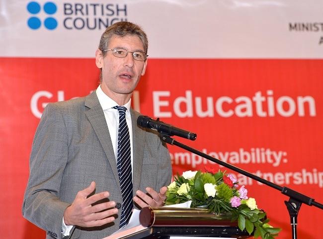 Đại sứ Vương quốc Anh tại Việt Nam Giles Lever