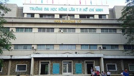 Trường ĐH Nông lâm TP.HCM (ảnh internet)