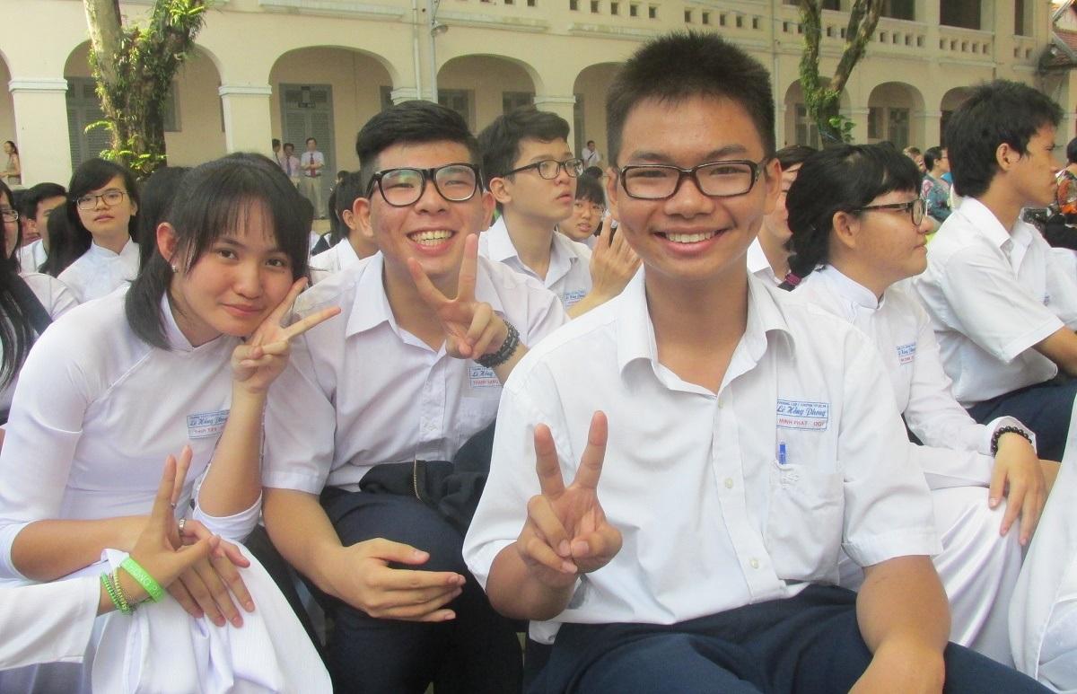 Năm học 2016-2017, số học sinh tại TPHCM tăng hơn 59.000 em