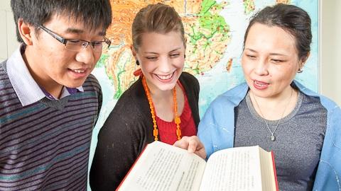 Sinh viên quốc tế học tại Phần Lan
