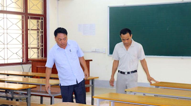 Công tác cho cụm 35 Trường ĐH Vinh hoàn thành tốt đẹp.