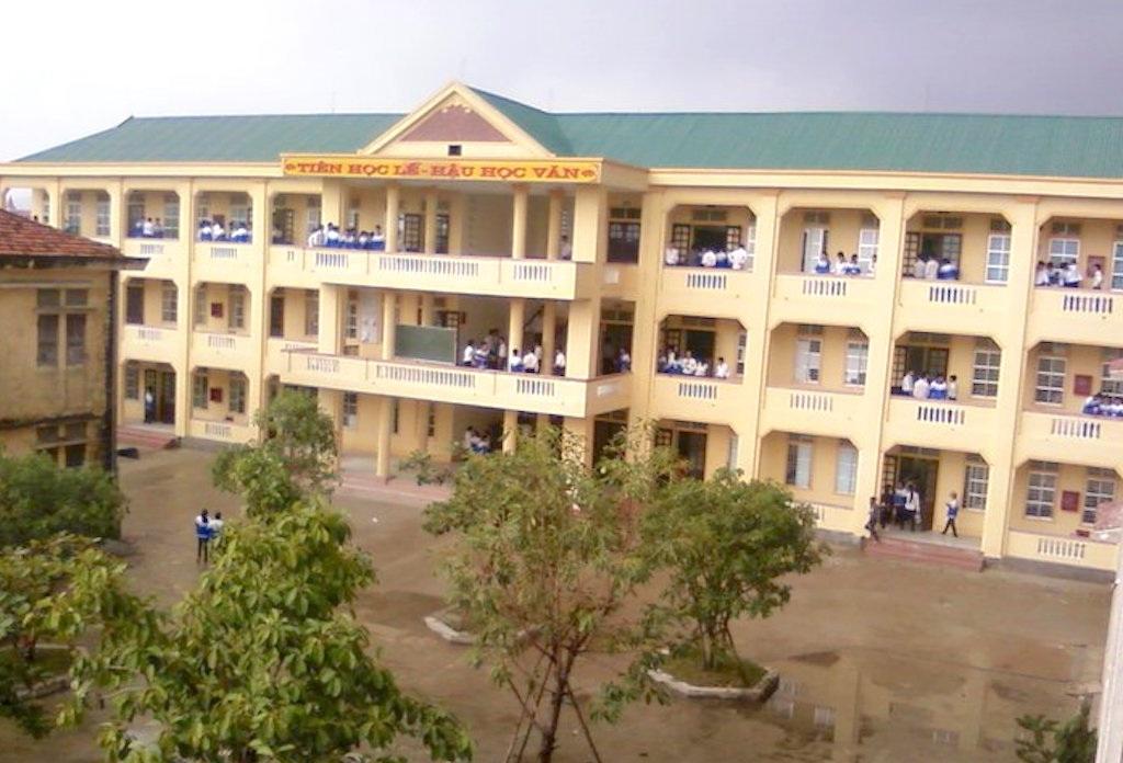 Trường THPT Hoàng Mai - nơi chỉ có 1 thí sinh đăng ký dự thi môn Lịch Sử.