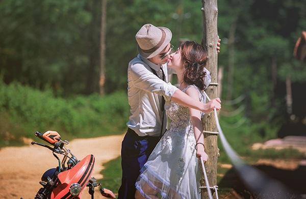 Ảnh cưới mang phong cách hoài cổ của cặp đôi trẻ - 4