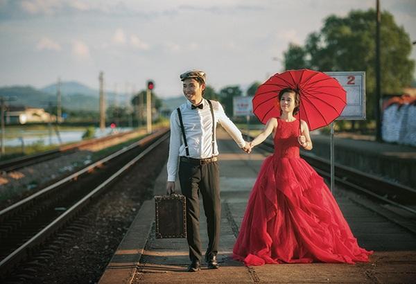 Ảnh cưới mang phong cách hoài cổ của cặp đôi trẻ - 7