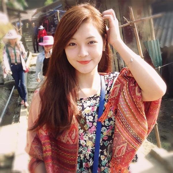 Thu Hương có gương mặt xinh xắn, dễ gây thiện cảm