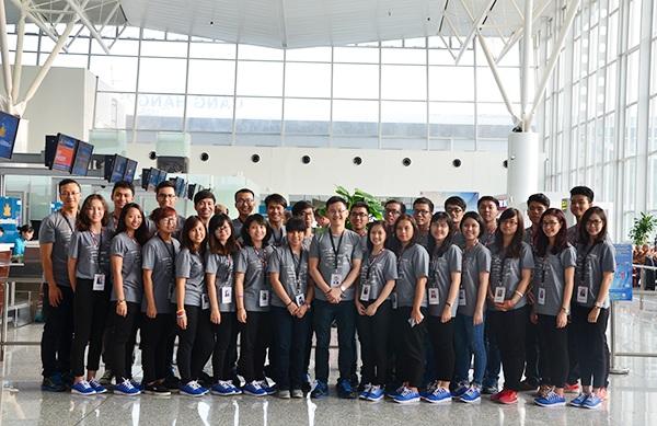 29 đại biểu thanh niên ưu tú của đoàn Việt Nam