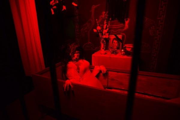 Những hình ảnh ma quái kết hợp với âm thanh rùng rợn khiến người xem nổi da gà