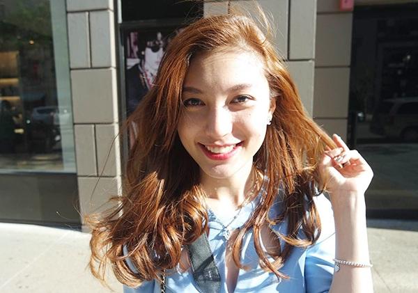 Cô nàng 20 tuổi, Đỗ Vân Anh , sinh viên ngành kế toán của trường đại học Suffolk, Mỹ