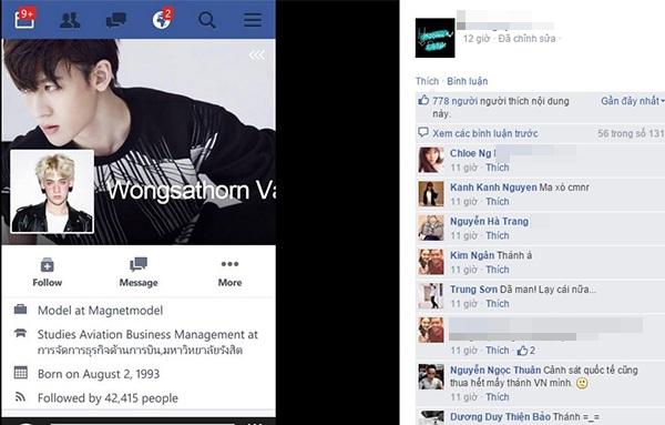 Chỉ trong vòng 1 giờ, dân mạng Việt đã tìm ra danh tính chàng tiếp viên Thái Lan đẹp trai