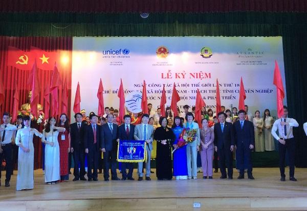 Lễ kỷ niệm ngày Công tác xã hội thế giới lần thứ 18 tại trường ĐH Công đoàn, Hà Nội