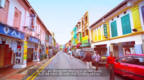 Những hình ảnh đẹp trong clip du lịch của Ngọc Hân