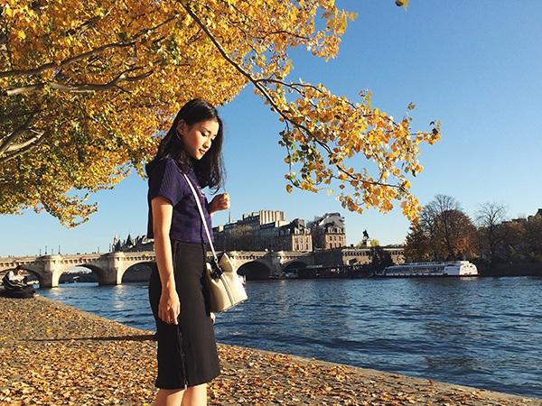 """Nữ sinh Việt đam mê theo đuổi thời trang nơi """"kinh đô ánh sáng"""" Paris - 6"""
